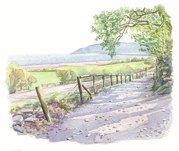 Page 176: Across Porlock Bay, from Worthy